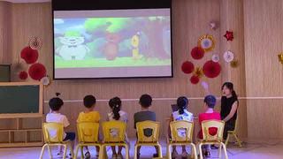小班营养宝塔情景阅读绘本教学
