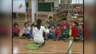 幼儿小班健康想变蝴蝶的毛毛虫教学视频