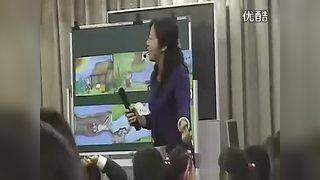 幼儿园大班语言活动看图讲述奇怪的洞课堂说课评课视频