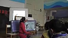 大班综合活动《漫画三毛》教学视频