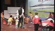 幼儿园主题教学优质课视频展示_中班运动活动《趣味游戏》潘老师