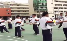七年级体育《排球正面双手垫球》教学视频,福建省,2015年部级优课评选入围视频