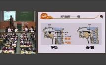 人教2011课标版生物七下-4.3.1《呼吸道对空气的处理》教学视频实录-林青