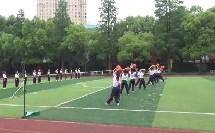 小学体育与健康二年级《双手持轻物掷远与游戏》(小学体育与健康优秀课例教学实录视频)