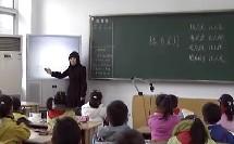 小学三年级语文优质课视频《槐乡五月》钱玲