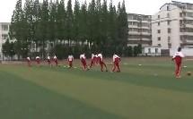 七年级体育《足球脚背正面运球》教学视频,江苏省,2015年部级优课评选入围视频