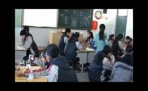华师大版科学八上5.1《食物的消化与吸收》课堂实录教学视频-何璐瑶