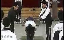 直腿倒地后滚翻(高中体育课堂实录公开课教学视频专辑)