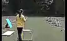 跨栏跑 高二体育(高中体育课堂实录公开课教学视频专辑)