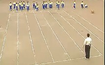 小学二年级体育优质课展示【30米快速跑】. 课堂实录 教学视频