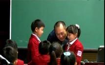 小学语文名师教学视频《熟悉人的一件事》何捷