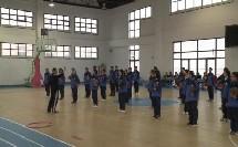初中体育《原地侧向投掷的动作方法》优秀教学视频