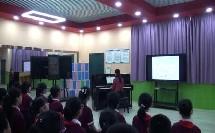 人音版五年级音乐简谱《丰收的节日》演唱课教学视频
