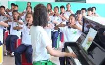 人音版五年级音乐演唱《乡间的小路》优秀课堂实录