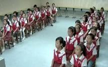 湘教版一年级音乐《月亮》演唱课教学视频