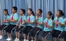 湘教版二年级音乐《跳竹竿》集体舞课堂实录-青年骨干林老师