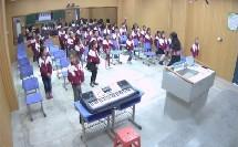 湘教版三年级音乐《摆手舞》集体舞课堂实录