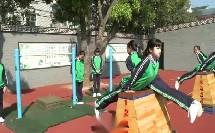 小学体育《发展悬垂支撑能力的练习》获奖教学视频-台州优秀课例评选