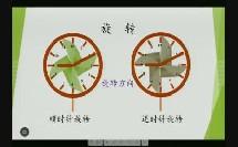 部编苏教版小学数学四年级下册《平移、旋转和轴对称练习》优质课视频+PPT课件,江苏省
