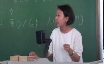 人教2011课标版物理八下-7《力的复习》教学视频实录-张雪