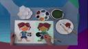 吹塑纸版画 左春燕 微课3_(小学三年级美术)#B8968