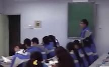 九年级政治 三个代表(代表先进生产力的发展要求) 课堂教学实录与教师说课视频