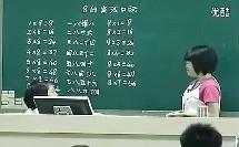 8的乘法口诀 小学数学