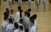人教版小学体育一年级下册《模仿走》教学视频