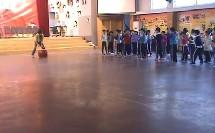 小学体育公开课教学视频 水平一模仿动物走和跑