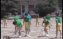 小学体育优质课视频 民族民间体育 滚铁环