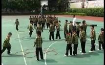 小学体育教学视频《跑跳步》第四届全国体育观摩课教学视频