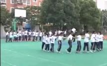 小学一年级体育上册《不同线路的走和跑》教学视频