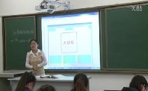 高中生物必修课《基因指导蛋白质的合成》教学视频-宁夏(2014年度全国部级优课评选高中生物入围作品教学实录)