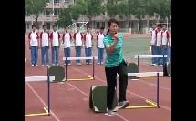 初中八年级体育《跨栏起跨腿技术》(初中体育名师工作室优秀课例示范教学实录)