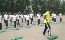 初中八年级体育《踏板操》(初中体育名师工作室优秀课例示范教学实录)