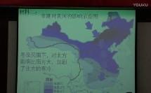 东部季风区内冬季气温差异(胡泽攀)