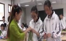 高中美术一袭植物小裙——高中服装设计课-万红亚