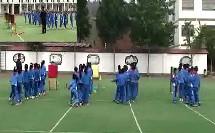 持轻物投准水平二_2013年山东省小学体育课程观摩视频