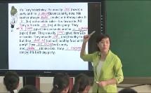 外研版初中英语七年级上册《Revision module B》天津【穆蕊】(初中英语优秀课例课堂教学实录)