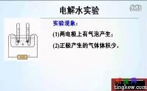 初中化学微课《水的组成》(初中化学微课教学视频)