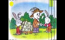 人教版_一年级下册(旧)_第七组_26小白兔和小灰兔_小白兔和小灰兔 之比较相同与不同微课