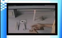 人教版_九年级上册_第一单元 走进化学世界_探究蜡烛熄灭后白烟成分的改进实验微课
