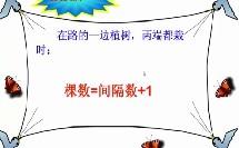小学_数学_植树问题微课