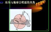 湘教版_七年级上册_第二章 地球的面貌_第一节 认识地球_地球的运动微课