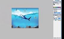 教科版_多媒体技术应用_第二章 图形、图像_图像合成-图层蒙版的应用微课