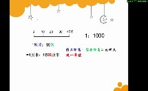 苏教版_六年级下册_四、比例_数值比例尺与线段比例尺互化微课