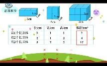 小学_数学_长方体和正方体的体积微课