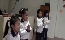 小学一年级音乐微课示范下册《草原就是我的家》合作类环节教学