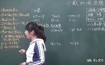 数学小学4下6.2 小数加_减法练习_6f8b_黄冈数学视频