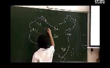 《中国的地形》讲授型